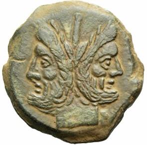 Asse romano con Giano