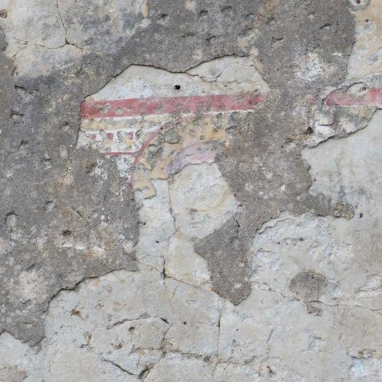 Tracce di affreschi dalla chiesa di San Basilio