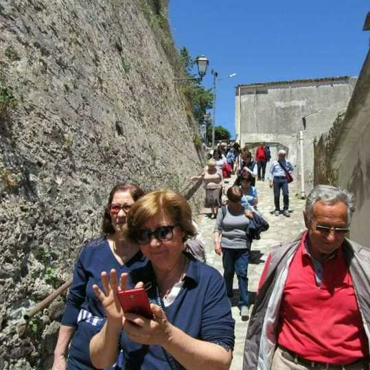 Turisti in Visita