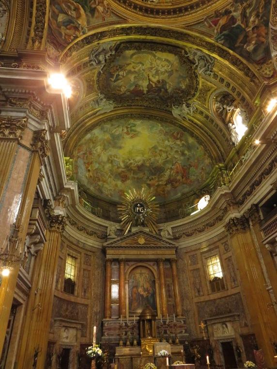 Altare chiesa del Gesù