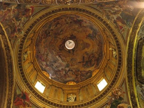 Cupola chiesa del Gesù
