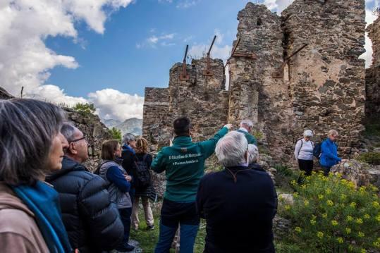 Visita al Castello Ruffo