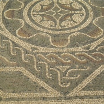Policromia mosaici Casignana